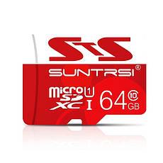 Карта пам'яті Suntrsi MicroSDHC 16GB Class 10 + адаптер в подарунок, фото 3