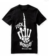 Футболка с принтом KILLSTAR Fuck Monday