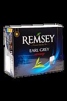Чай Remsey Earl Grey Strong (черный с бергамотом) 75 пакетиков
