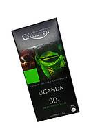 Шоколад Cachet Dark Uganda 80% ,100 г