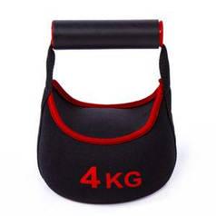 Гиря IronMaster неопреновая 4 кг
