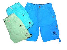 Котоновые шорты для мальчиков S&D, размеры 98.104., арт. ХСС-56