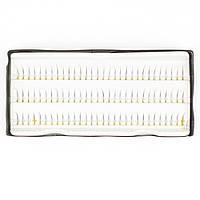 Набор из 90 однослойных прядей накладных ресниц Beauties Factory Individual Single Strands 14 мм
