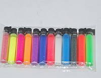 Микро блестки для дизайна ногтей, 12 шт в наборе