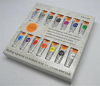Краски гелевые для маникюра по 5 гр, 18 шт в наборе
