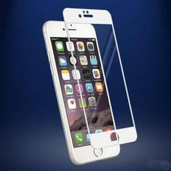 Защитное стекло для Apple iPhone 6 белое 3D