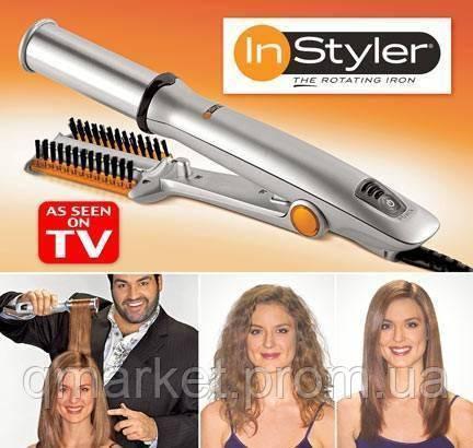 Cтайлер для волос Instyler IS-1001, электрические щипцы для завивки волос - Интернет-магазин «Qmarket» в Одессе