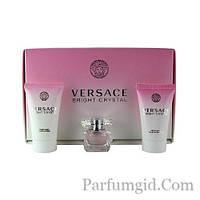 Versace Bright Crystal SET (EDT 5ml + BODY OIL 25ml + SHOWER GEL 25ml) (ORIGINAL)