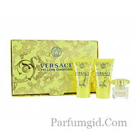 Versace Yellow Diamond SET (EDT 5ml + SHOWER GEL 25ml + BODY LOTION 25ml) (ORIGINAL)