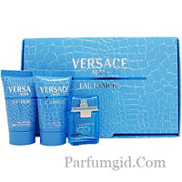 Versace Man Eau Fraiche SET (EDT 5ml + SHOWER GEL 25ml + AFTER SHAVE BALM 25ml) (ORIGINAL)