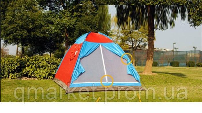 Туристическая палатка SHENGYUAN 8 SY-020, палатка 5 местная - Интернет-магазин «Qmarket» в Одессе