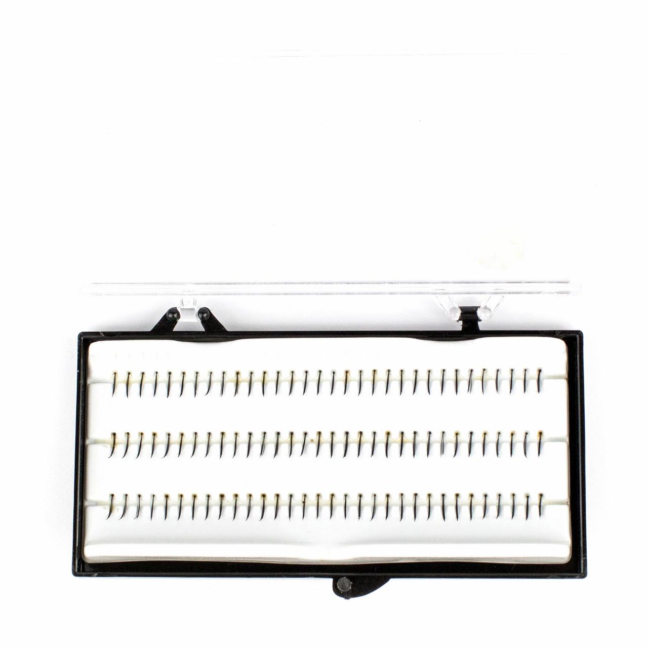 Набор из 96 однослойных прядей накладных ресниц 4 в 1 Beauties Factory Individual Single Strands 8 мм