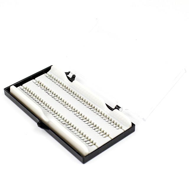Набор из 96 однослойных прядей накладных ресниц 4 в 1 Beauties Factory Individual Single Strands 14 мм