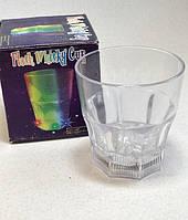 Оригинальный Сувенир Светящийся Стакан для Виски Flash Whisky Cup Прикол для Вечеринки