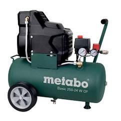 Компрессор поршневой безмасляный Metabo Basic 250-24 W OF