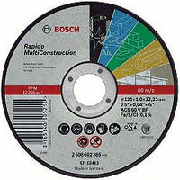 Круг отрезной Bosch Rapido MultiConstruction ACS 46 V BF 125