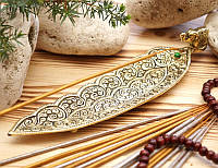 Подставка для ароматических палочек, желтая  - Слон