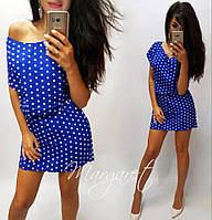 Платье летнее в Горох две модели