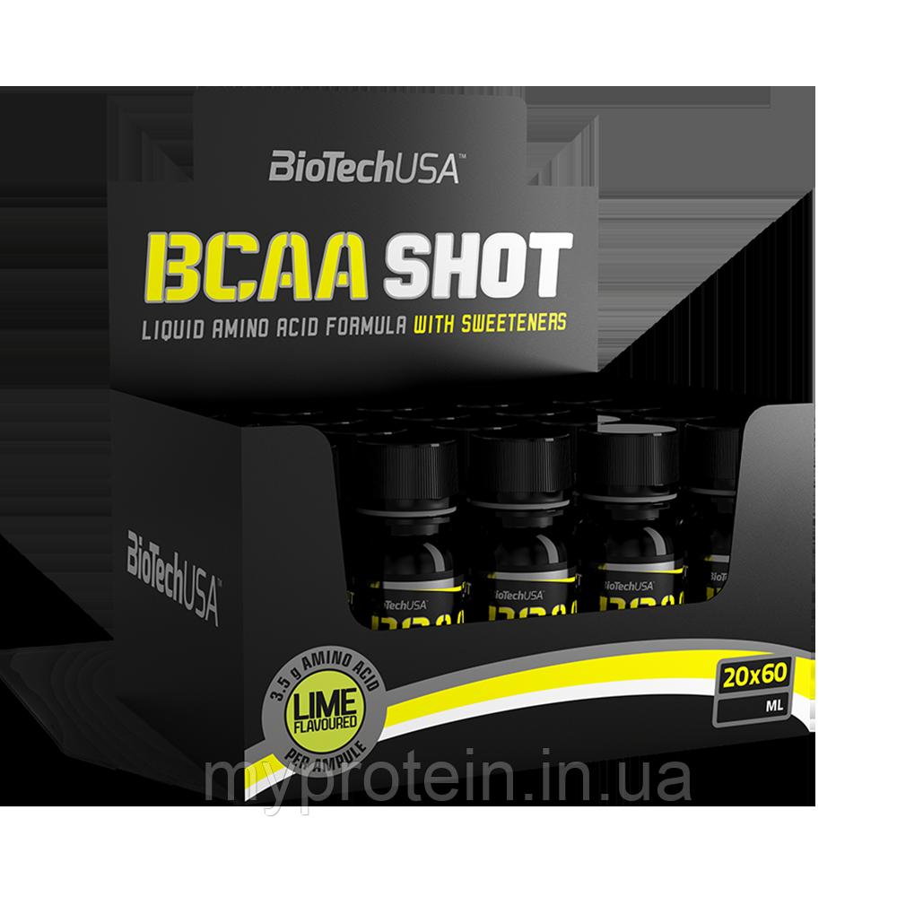 BioTech БЦА BCAA Shot zero carb (20*60 ml )
