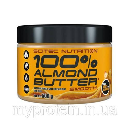 Scitec Nutrition Миндальная паста 100% Almond Butter (500 g smooth)