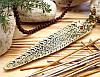 Подставка для ароматических палочек, желтая - Будда #4