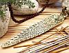 Подставка для ароматических палочек, желтая - Ганеша #4