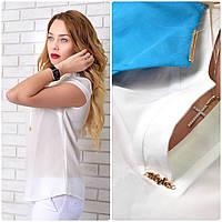 Блузка женская, модель 903, молочный, фото 1