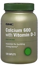 GNC Кальций витамин Д Calcium 600 with Vitamin D-3 (120 cap)