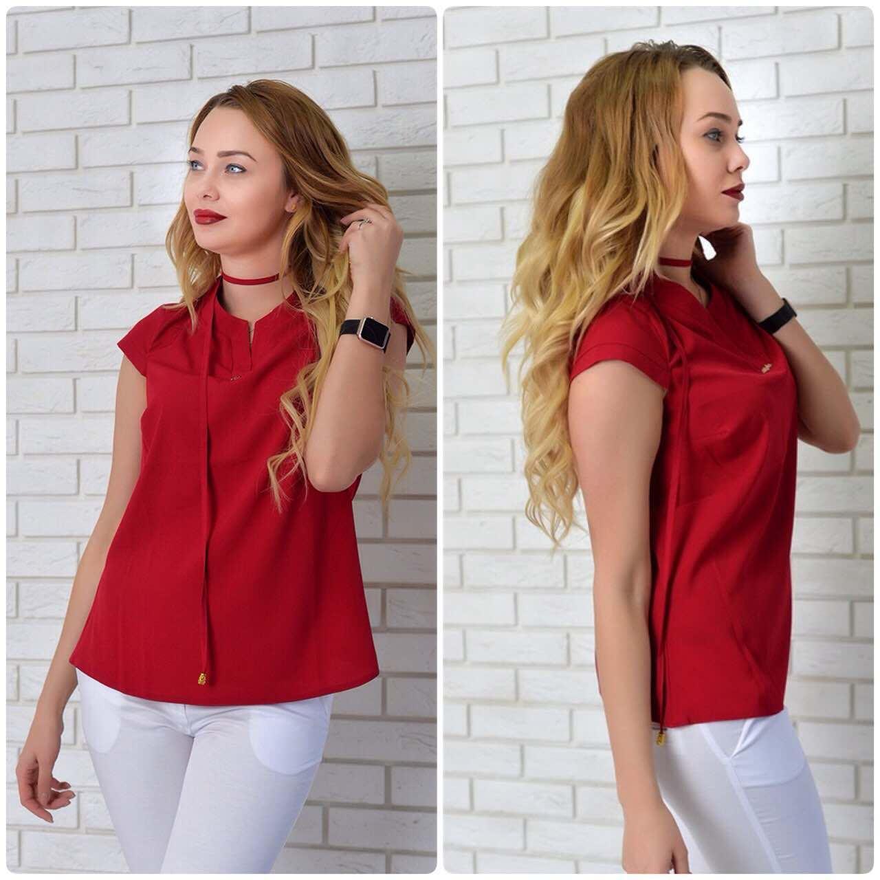 Блузка женская, модель 903, марсала, фото 1
