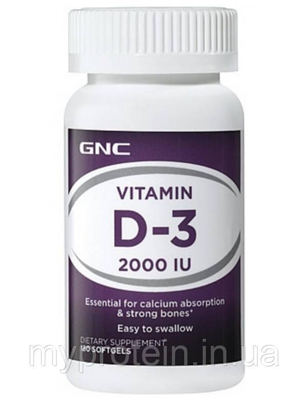 GNCВитамин ДVitamin D-3 2000 IU (180 tab)