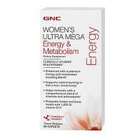GNCВитамины и Минералыдля женщин Women's Ultra Mega Energy & Metabolism (90 caplets)