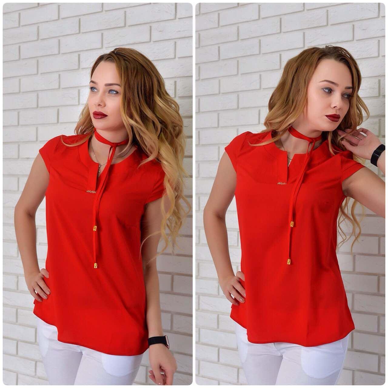 Блузка женская, модель 903, красный