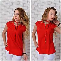 Блузка женская, модель 903, красный, фото 1