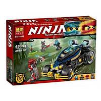 "Конструктор Bela Ninja 10582 ""Самурай VXL""  Аналог Lego Ninjago 70625,450 дет"