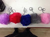Помпоны подвеска-брелок из искусственного меха