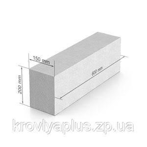 Газобетон UDK 150*200*600, фото 2