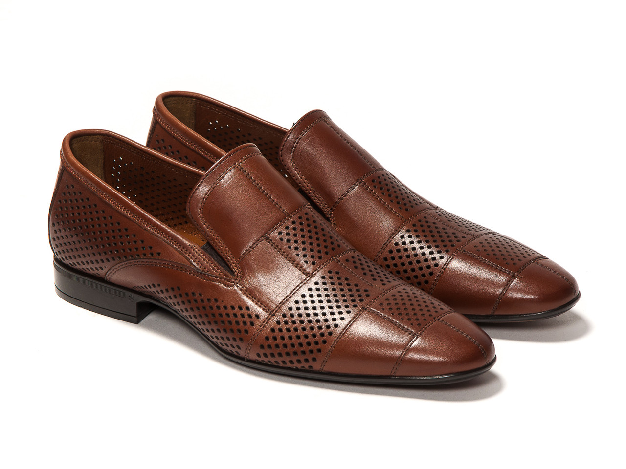 Туфли Etor 10407-7063 коричневые
