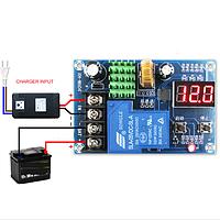 Реле контроля напряжения зарядки (6...60В 30А)