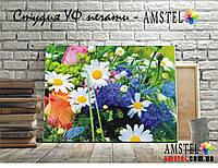 """Картина """"Букет весенных цветов"""". Ультрафиолетовая печать на холсте (20x30)"""