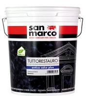 San Marco ANTICA CALCE PLUS - декоративное покрытие с эффектом состаренной штукатурки для внутренних работ.