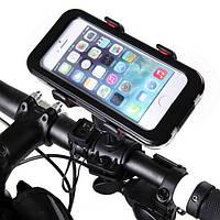 """Велосипедный держатель для смартфонов, универсальный (до 6.3""""), модель Fly S031"""