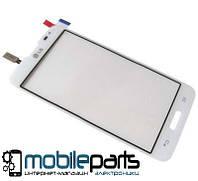 Оригинальный Сенсор (Тачскрин) для LG D320 Optimus L70 | D321 | MS323 (Белый)