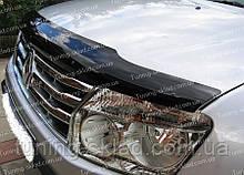 Дефлектор Рено Дастер (мухобойка на капот Renault Duster)