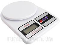 Весы кухонные электронные до 5 кг Electronic Kitchen Scale SF-400 (Электроник Китчен Скейл)