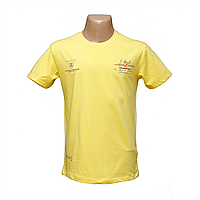Желтая стрейчевая футболка Lycra тм. BY Walker. пр-во Турция 14045-5