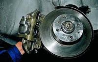 Замена и ремонт суппортов Sprinter, BUS, VITP