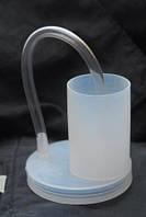 Крышка для вина (гидрозатвор) с трубочкой, фото 1