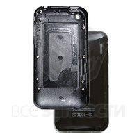Задняя панель корпуса для мобильного телефона Apple iPhone 3G, черная, high copy