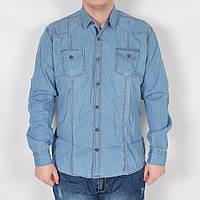 Мужская рубашка из льна - Турция - ТОП качество - модель 144-15