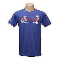 Мужская турецкая стрейчевая футболка Lycra 12141